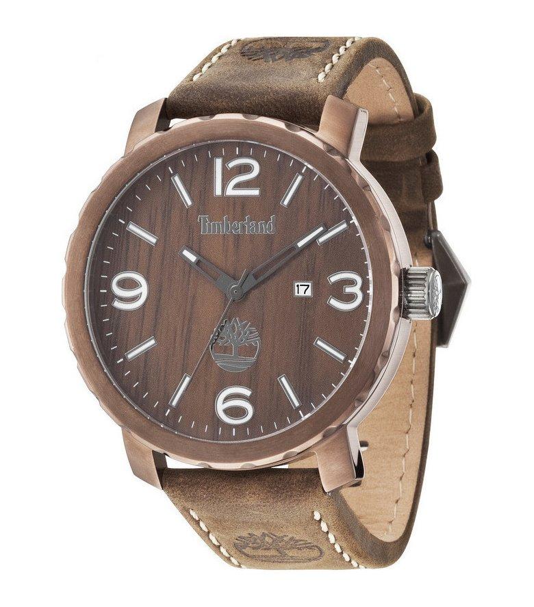 Timberland Pinkerton Brown Leather Strap 14399XSBN-12 9445c9554ab